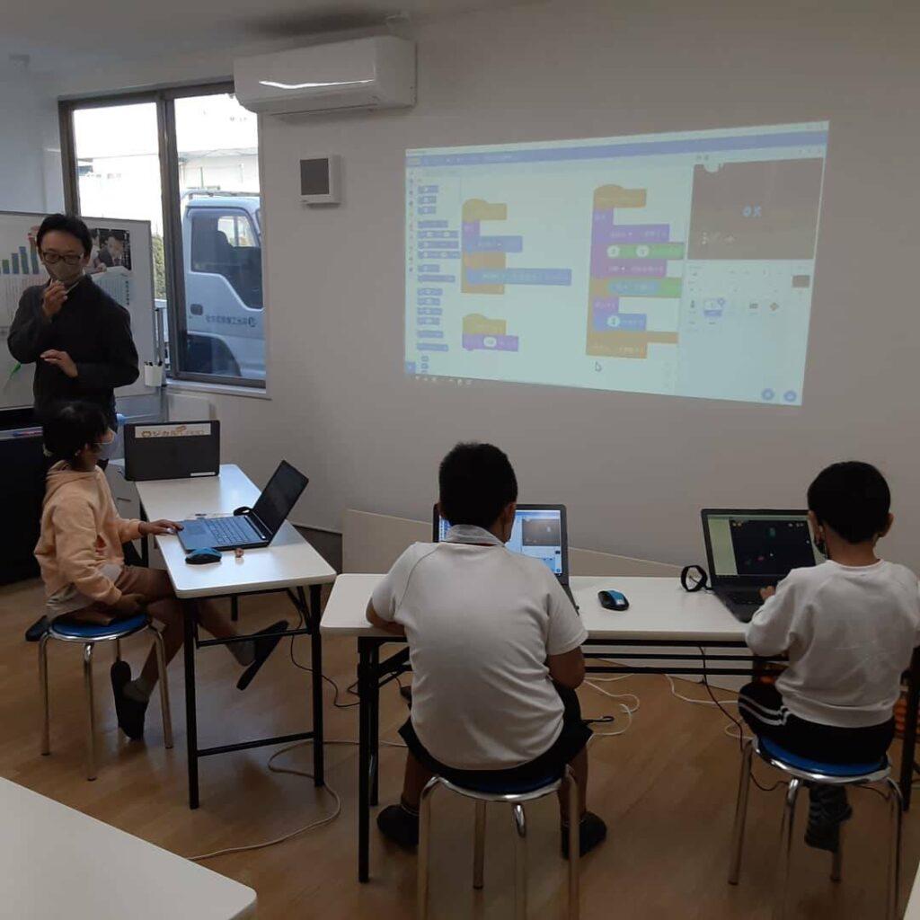プログラミング教室の様子3